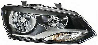 Vw Polo 2009-2014  Twin Headlight Headlamp Rh Right O/S Off Side Drivers Side