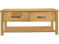 Schreiber Woburn Coffee Table with Storage - Oak