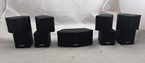 BOSE JEWELL CUBES SPEAKERS
