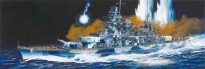 Dragon 1040 1:350 German Scharnhorst Battleship 1943