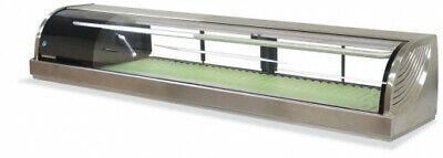 Sushi Bar Showcase Countertop Sushi Cooler Display Commercial Refrigerators 132l