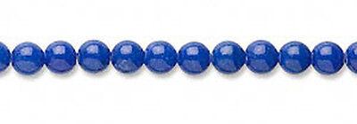 Blue Mountain Jade Gemstone Round Beads 4MM