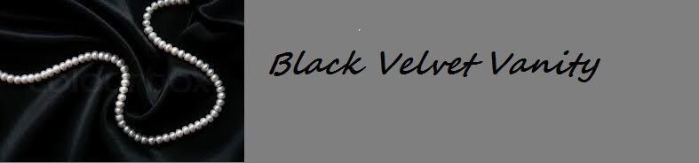 Black Velvet Vanity