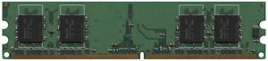 2pcs SAMSUNG SIMM 256MB (500MB total) PC2 3200 333MHz MEMORY
