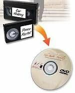 We convert VHS-C(Pal/ Secam - NTSC) camcorder videotapes to DVD
