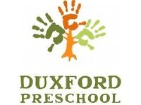 Preschool Assistant, Duxford Preschool (Part-time)