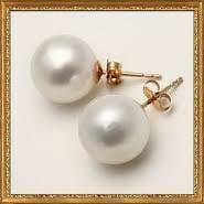ROUND PEARL STUD EARRINGS Melbourne CBD Melbourne City Preview