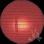 30 Inch Large Mauve Round Lanterns