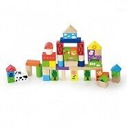 50 piece farm building blocks