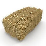 1 bail of hay, sawdust and straw - animal feed and bedding