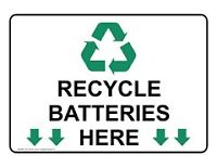 Battery Recycling - We Buy Your Old Truck / Car Batteries