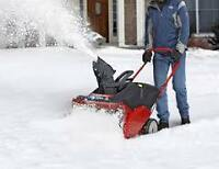 #1 SNOW REMOVAL Burlington,Oakville BACK FOR 5th SEASON