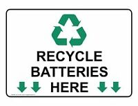 Battery Recycling / Drop Off