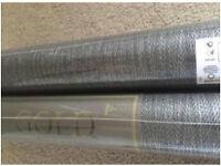 B&Q black / grey shimmer wall paper rolls x 2
