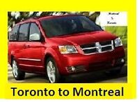 Ride Share Montreal to Toronto