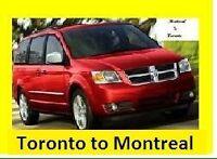 Ride share Toronto to Montreal