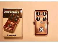 TC Electronic Mojomojo true bypass overdrive pedal - as NEW condition