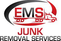 EMS Junk Removal/ Best Rates in town, will price match everyone.