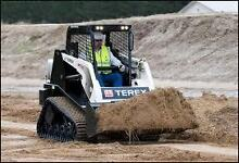 TEREX 1.5 TONNE SKID STEER LOADER DRY HIRE 4 IN1 BUCKET & TRAILER Belmore Canterbury Area Preview