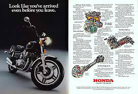 1981 Honda CB 900 Custom dealer brochure Kitchener / Waterloo Kitchener Area image 2