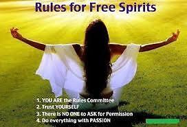 To be a Free Spirit