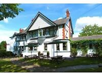 Chef required for successful, busy country pub. Potential to progress up the ladder