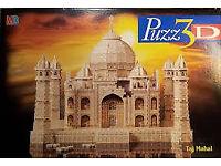 Brand New Sealed Puzz 3D Taj Mahal Puzzle (1077 pcs)