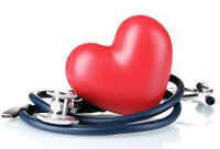 Health Care Provider CPR (Heart & Stroke BLS) Classes Available!