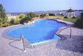 POOL LINER REPLACEMENT / CHANGEMENT DE TOILE DE PISCINES