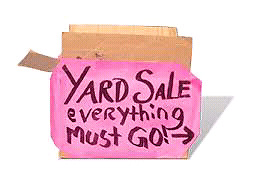 Yard Sale- 209 Tobias-Riverview- sunday May 7-rain or shine