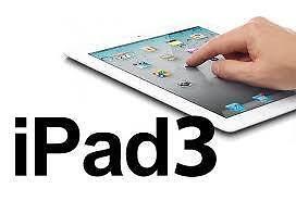 Apple iPad 3 (32GB, Wi-Fi + 4G, Black) 3rd GeneratiON SALE 9.7 Retina Display