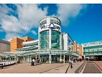 Cleaners Required MON - SUN, 1 Hour, 8am to 9am -West Quay Shopping Centre