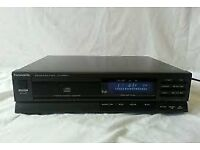 PANASONIC CD COMPACT DISC PLAYER SL-PJ24A - Black Separate Component