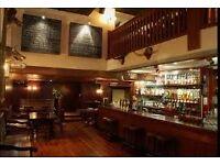 Bar Staff - The White Swan - Chancery Lane, London