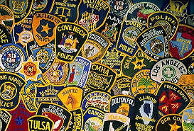 POLICE/FIRE PATCHES