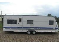 Big HOBBY Prestige Caravan - Good Condition - great price