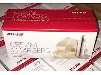 CREAM CHARGERS SW