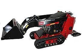 TORO DINGO  NARROW ACCESS MINI LOADER DRY  HIRE FROM $230 PER DAY