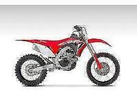 HONDA CRF250RX 2021 NEW ROAD REGISTERED ENDURO BIKE AT CRAIGS MOTORCYCLES