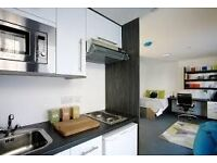 studio student apartment, all inclusive, ensuit and kitchen. on sheffield hallam city campus