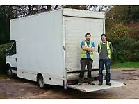 24/7 SHORTNOTICE CHEAP MAN AND VAN REMOVAL COMPANY MEN POWER BIKE MOPED RECOVERY SERVICE LUTON TRUCK