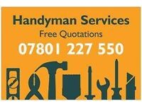 Handyman Harry based in Altrincham willing to travel