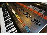 Roland Jupiter 8 polyphonic synth for sale. Beautifull condition. Little used. Bargain.