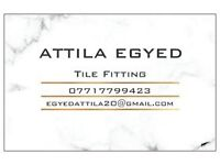 Professional tile fitting in Surrey - high quality, reasonable prices, competitive turnaround times