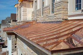 Sheet Metal and Copper Roofing (Custom and Traditional)
