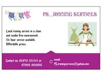 PS...Ironing Services