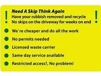CHEAP*house clearance office garden rubbish removal waste man with van skip domestic household