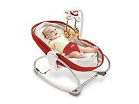 Tiny Love 3 in 1 Baby Rocker, Infant Musical Vibrating Napper