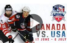 Canada vs USA Ice Hockey Game-- Premium tickets! South Brisbane Brisbane South West Preview