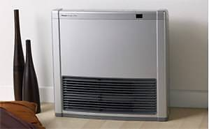 1 x Shop Soiled Rinnai Avenger 25Plus Gas Heater - Silver - NG Caringbah Sutherland Area Preview